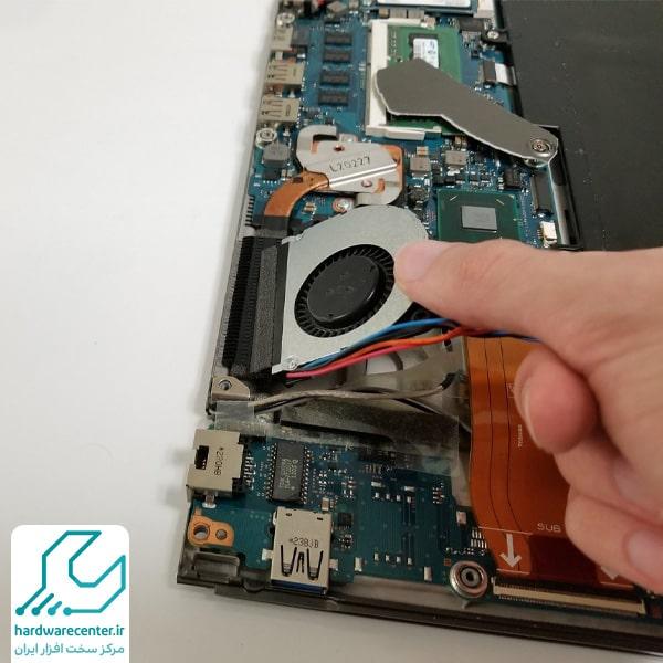 تعمیر لپ تاپ توشیبا