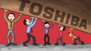 زیان بیسابقه برای شرکت توشیبا