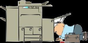 تعمیرات کپی توشیبا و رفع علت گیر کردن کاغذ در دستگاه کپی