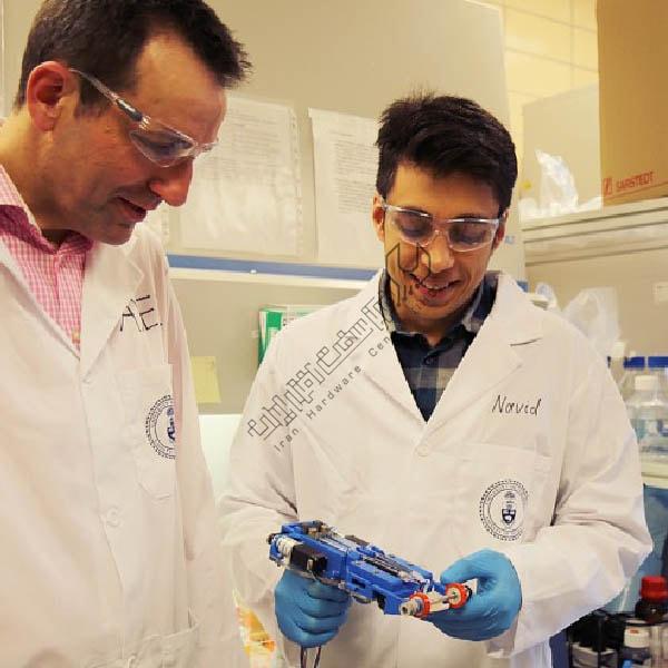 درمان زخم های عمیق با چاپگر سه بعدی