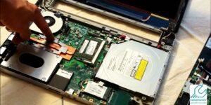 تعمیر مادربرد لپ تاپ توشیبا