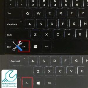 کلید fn لپ تاپ